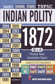 TNPSC Indian Polity Previous Years Exam Papers 1872 Q&A