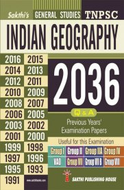 TNPSC Indian Geography Previous Years Exam Papers 2036 Q&A
