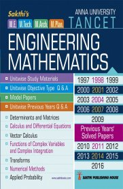 TANCET ME Engineering Mathematics