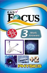 12th Focus Physics 3 Marks Q&A