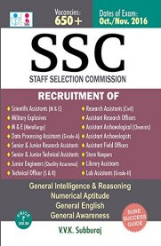 Sura SSC Scientific Assistants, Research Assistants & Others Post Exam Book