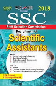 Sura SSC Scientific Assistants Exam Book