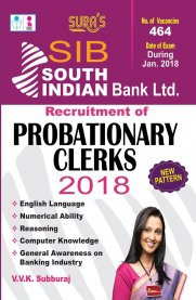South Indian Bank Recruitment of Probationary Clerks Exam Book