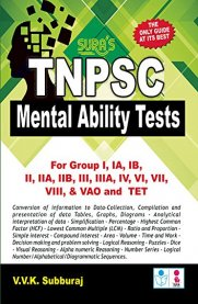 TNPSC Mental Ability Test Exam Study Material Book