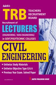 TRB Civil Engineering Lecturers [Govt. polytechnic colleges]