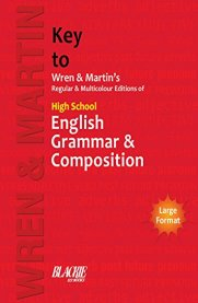 Key to High School English Grammar & Composition [Regular & Multicolour Edition] - Wren & Martin