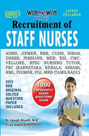 Complete Study Material of Staff Nurse Recruitment Exam Solved Paper Book