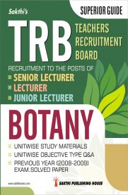 TRB Botany Senior / Junior Lecturer Unitwise Study Materials & Objective Type Q&A