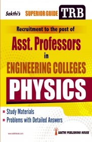 TRB Physics [Asst. Professor in Engineering Colleges]
