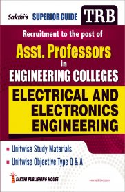 TRB Electrical & Electronics Engineering [Asst. Professor in Engineering Colleges]
