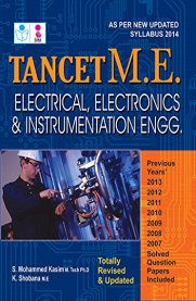 TANCET ME Electrical, Electronics and Instrumentation Engineering Exam Book