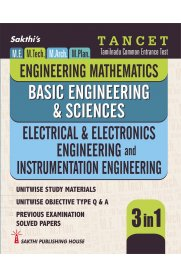 TANCET ME Electrical & Electronics Engineering, Instrumentation Engineering, Basic Engineering & Sciences, Engineering Maths [3 in 1]