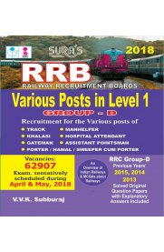 RRB Level 1 Group D [Various Posts] Exam Preparation Book