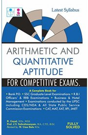 Arithmetic and Quantitative Aptitude Book for Competitive Exams