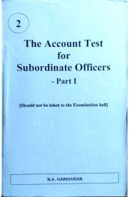 The Account Test for Subordinate Officers - Part I