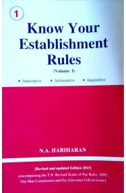 Know Your Establishment Rules - Volume I