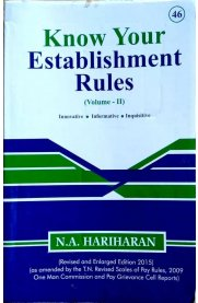 Know Your Establishment Rules - Volume II