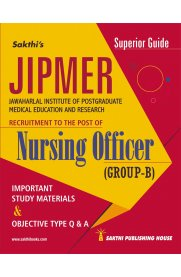 JIPMER – Nursing Officer (Group B) Study Materials & Objective Type Q&A