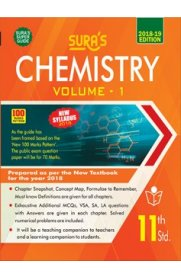 11th Standard (New Textbook) Chemistry Volume I Exam Guide