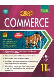 11th Standard (New Textbook) Commerce Exam Guide
