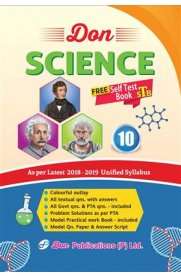 10th Standard DON Science