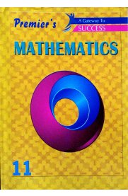 11th Standard Premier's Mathematics Volume 1 & 2 [2 Volume Book Set]