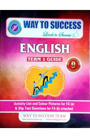9th Standard Way To Success English Guide Term I Guide
