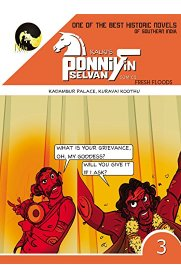 Ponniyin Selvan Comics English - Part 3 - Kadambur Palace, Kuravai Koothu