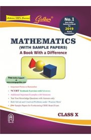 Golden Mathematics: (With Sample Papers) A book with a Difference for Class X [For 2019 Final Exams]