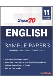 11th Standard Super 20 Sample Papers English