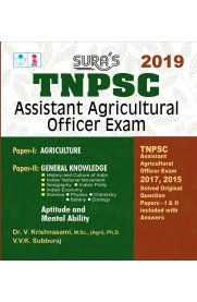 TNPSC Assistant Agricultural Officer Exam Book