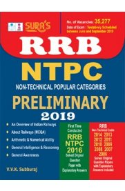 RRB NTPC [Non Technical Popular Categories] Preliminary Exam Book