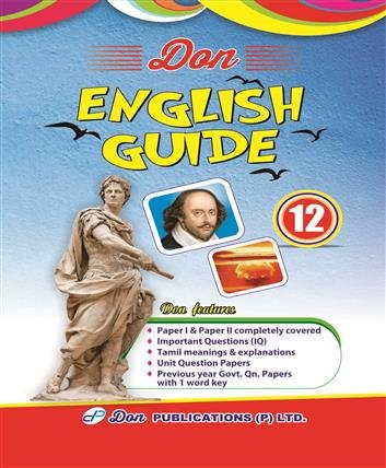 routemybook buy 12th standard don english guide by dr s a rh routemybook com English Premier Gold Letters English Premier League Fixtures