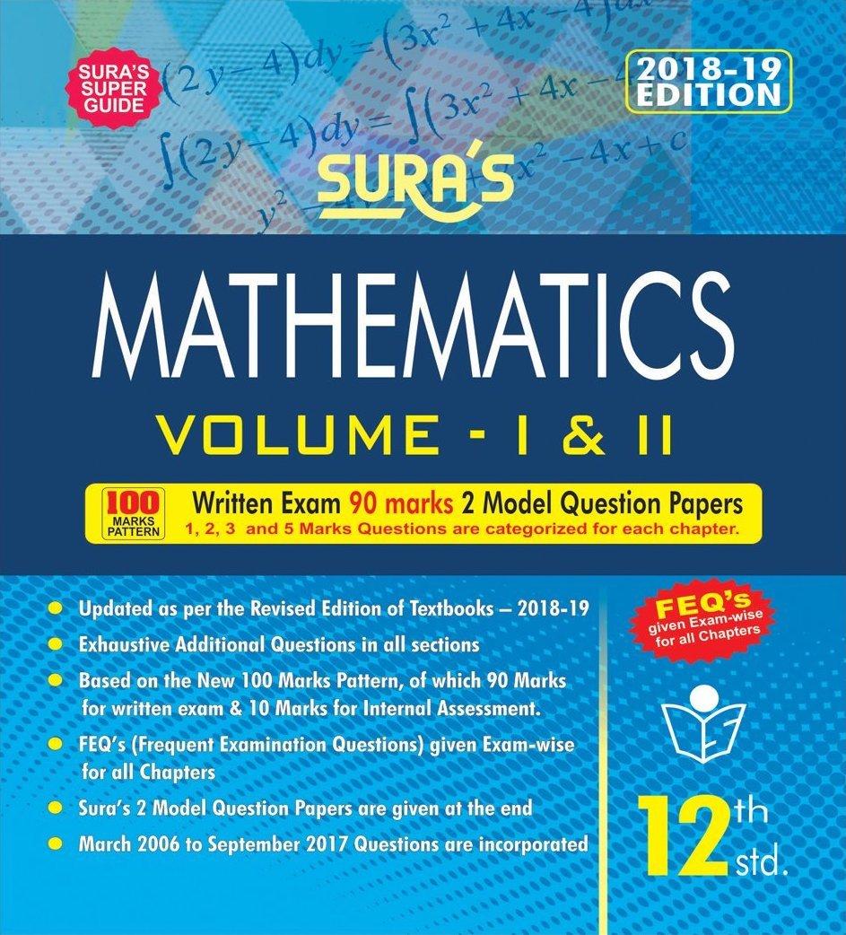 12th Standard Mathematics Guide