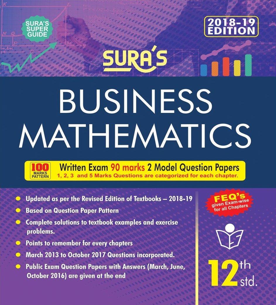 12th Standard Business Mathematics Guide