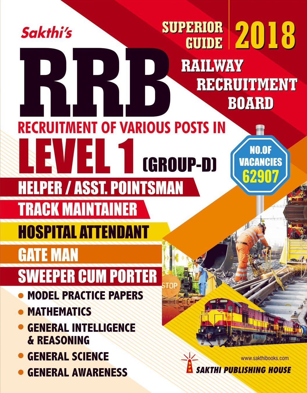 Routemybook - Buy RRB Level 1 Group D (Various Posts ) Exam