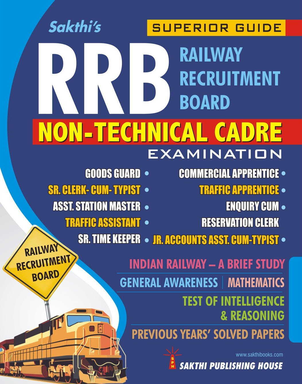 Routemybook - Buy RRB Non Technical Cadre Exam Book by Sakthi's