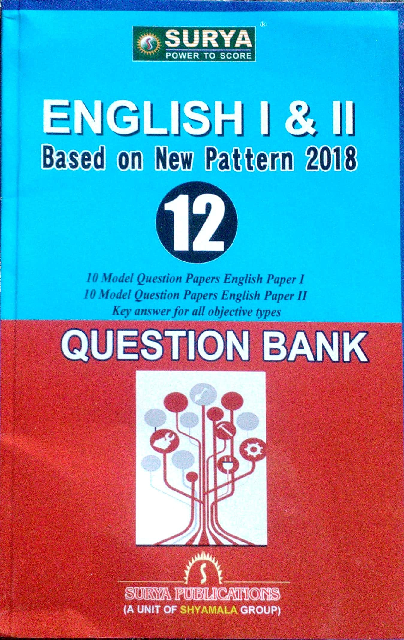 12th Surya Topper's Star English Guide & Work Book