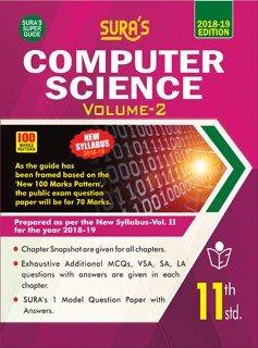 11th computer science book volume 1 pdf 2018